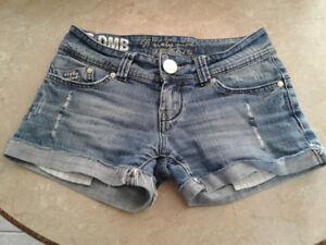 Short en jeans pour femme