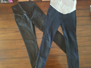 2 pairs Thyme Maternity Skinny Jeans Size S