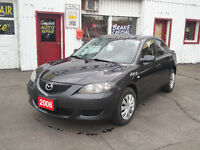2006 Mazda 3 155,000km Safety/E-tested 5 Speed! Kitchener / Waterloo Kitchener Area Preview
