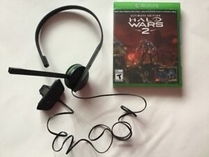 Halo Wars 2 Ultimate Edition neuf scellé/30$ - Casque/15$