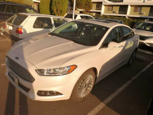 2016 Ford Fusion Titanium Sedan FULLY LOADED!
