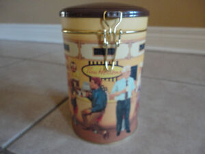 Tim Hortons collectible limited edition metal canister scenery London Ontario image 6