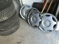 Mercedes Benz Winter Tire on Rims and original Hub Cap
