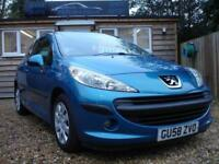 PEUGEOT 207 S HDI 2008 Diesel Manual in Blue