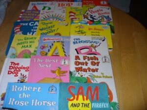 Lot of 21 Dr. Seuss and I Can Read Books: Great Titles