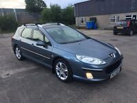 2005 PEUGEOT 407 SW 2.0L HDI ZENITH OVEMBER, FULL LEATHER £1200 ono