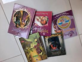 Disney hard covered books x 5