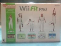 Nintendo Wii Fit plus board & game