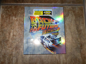 Back to the Future Trilogy, Blu-ray - Brand New