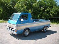 1969 dodge a 100 cool little van truck! Very rare