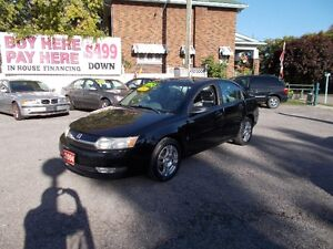 "2004 SATURN ION ""WOW ONLY 160,000 KM"""
