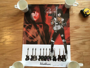 *Washburn (Paul Stanley)* poster ,  *Eastwood / Airline* poster