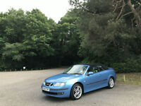 2006 Saab 9-3 1.8 Turbo Vector Sport 2 Door Cnvertible Blue