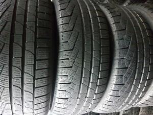 245/40R19 pirelli run flat,  4 beaux tire d'hiver à vendre