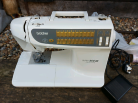 Brother super ace iii computer sewing machine