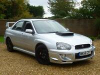 2005 55, Subaru Impreza 2.0 WRX TURBO Saloon ++ T/BELT REPLACED + CLUTCH CHANGED
