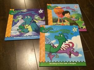 Lot of 3 Dragon Tales Kids Hardcover Books - Great condition!
