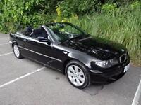 BMW 320 Convertible 2.0TD Cd SE - 2006/06 reg