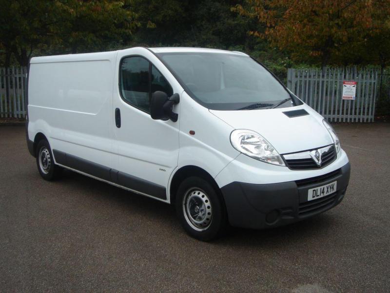 Vauxhall Vivaro 2.0Cdti [115Ps] Van 2.9T Euro 5 DIESEL MANUAL WHITE (2014)