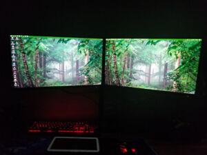 """TWO BenQ - GW2760HS 27.0"""" 1920x1080 60Hz Monitor W/ Mount"""