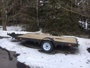 5x10 Flatbed Trailer - Make an Offer