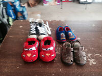 Variety of Boys Shoes