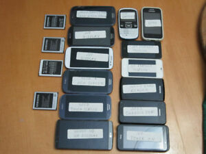 Cell Phones Lot For Parts&Repair
