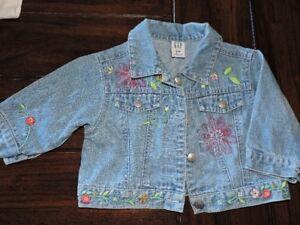 Manteau jeans Gap 6-12 mois