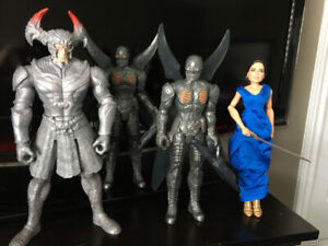 justice league steppenwolf,parademons,wonder woman  $20.00