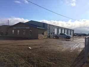 Stettler Industrial Shop for Lease (FIRST MONTH FREE)