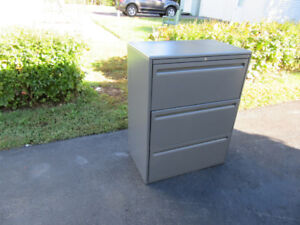 3 Drawer filing cabinet with keys ONLY $45 Each