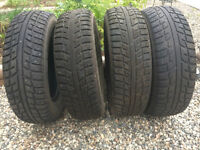 4 Kumho Winter Tires for sale - 80% tread left