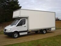 24/7 LARGE LUTON VAN HIRE MAN AND VAN DELIVERY MOTORBIKE MOPED RECOVERY HOUSE MOVERS WASTE REMOVALS