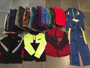 fall-winter-spring clothes, rain & winter boots for boy 4-5 yo