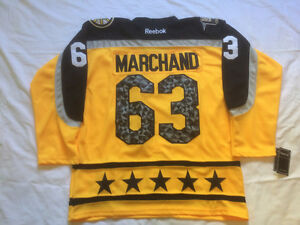 Brand new stitched never been worn Brad Marchand Atlantic All st