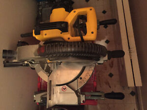 Dewalt chop saw and king Canada stand for sale