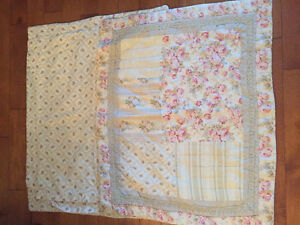 Girls Quilted Bedding, Curtains & pillows