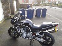 Yamaha Fazer 1000. 2002