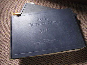 Jane's fighting ships, 2 vintage books, INCREDIBLE!