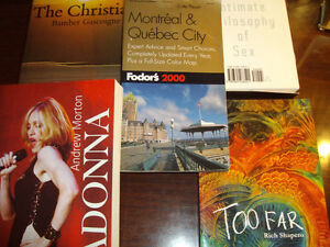 5 books in English for pleasant reading: Madonna with pics - $5