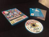 Nintendo Wii u super Mario bros u + luigi game