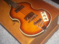 SHE IS A BEAUTY, MINT EPIPHONE VIOLA 4 STRING BASS-325.00