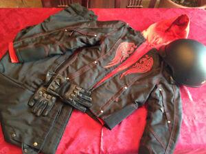 Vêtements pour faire de la moto