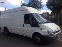 Man and van anytime anywhere in London short notice welcome house and office clearance