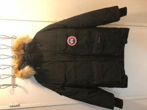 CANADA GOOSE - EXPEDITION - BLACK SIZE SMALL