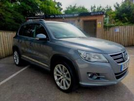 2010 VOLKSWAGEN TIGUAN 2.0TDI ( 170ps ) 4MOTION R LINE IN GREY