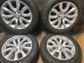 18 inch Genuine Range Rover Evoque alloy wheels