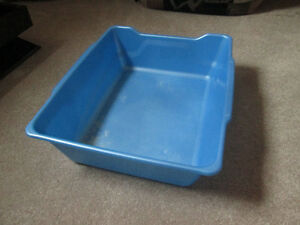 Blue Cat Litter Tray Kitchener / Waterloo Kitchener Area image 1
