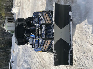 2014 arctic cat Limited edition  700 with plow!!