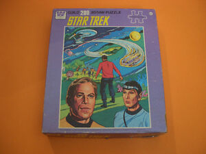 (3) STAR TREK GUILD PUZZLES (ALL COMPLETE) (ONE SEALED) London Ontario image 4
